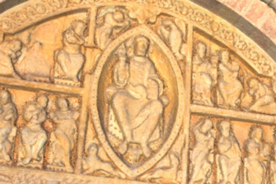 Tympan d'église – Carennac