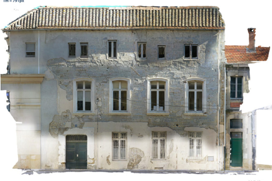 Relevé de façade – Avignon – III